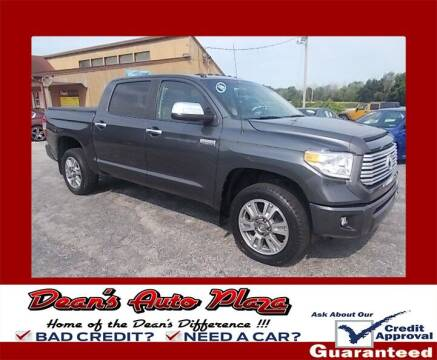2016 Toyota Tundra for sale at Dean's Auto Plaza in Hanover PA