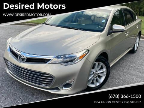2014 Toyota Avalon for sale at Desired Motors in Alpharetta GA