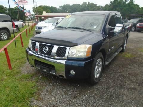 2007 Nissan Titan for sale at Alabama Auto Sales in Semmes AL