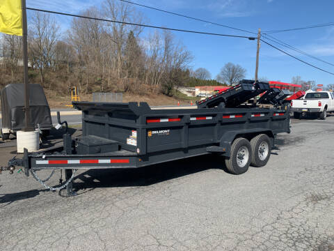 2021 Belmont DTX8116-14K Dump Trailer for sale at Smart Choice 61 Trailers in Shoemakersville PA