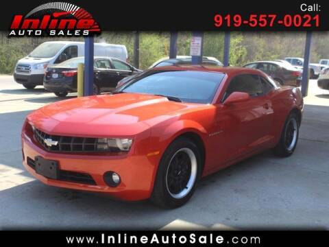 2012 Chevrolet Camaro for sale at Inline Auto Sales in Fuquay Varina NC