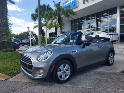 2017 MINI Convertible for sale at Mazda of North Miami in Miami FL