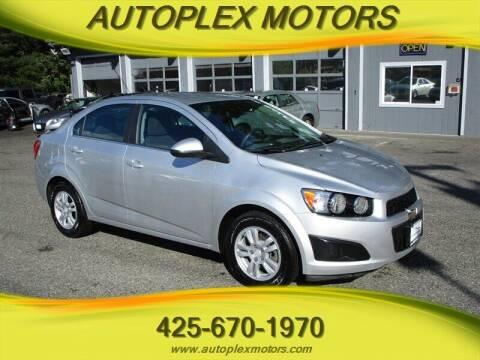 2015 Chevrolet Sonic for sale at Autoplex Motors in Lynnwood WA