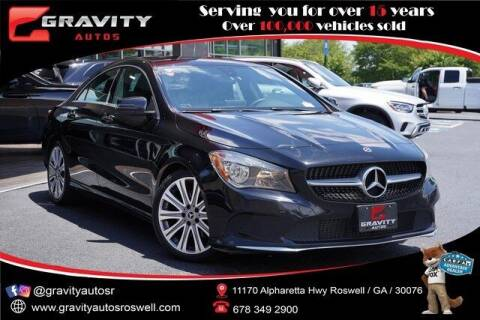 2018 Mercedes-Benz CLA for sale at Gravity Autos Roswell in Roswell GA