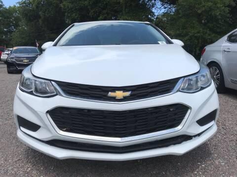 2017 Chevrolet Cruze for sale at #1 Auto Liquidators in Yulee FL