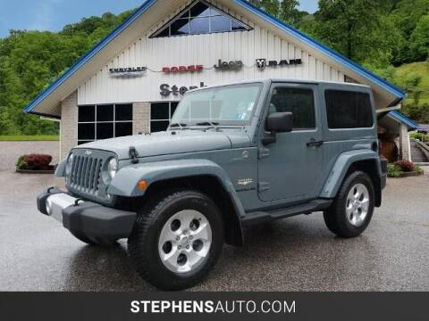 2014 Jeep Wrangler for sale at Stephens Auto Center of Beckley in Beckley WV