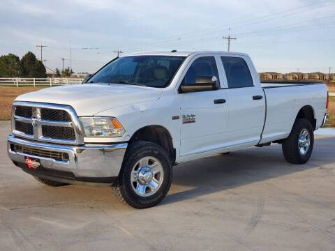 2017 RAM Ram Pickup 2500 for sale at Chihuahua Auto Sales in Perryton TX