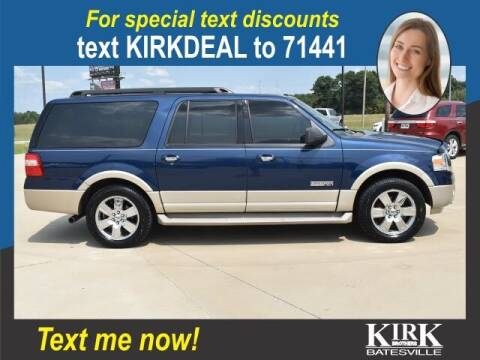 2007 Ford Expedition EL for sale at Kirk Brothers Batesville in Batesville MS