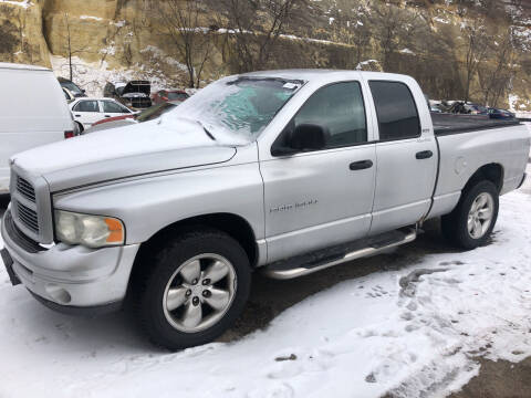 2002 Dodge Ram Pickup 1500 for sale at Gilly's Auto Sales in Rochester MN