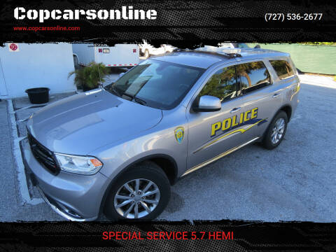 2018 Dodge Durango for sale at Copcarsonline in Largo FL
