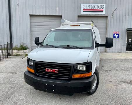 2014 GMC Savana Cutaway for sale at CTN MOTORS in Houston TX