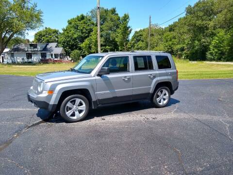 2016 Jeep Patriot for sale at Depue Auto Sales Inc in Paw Paw MI