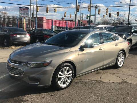 2017 Chevrolet Malibu for sale at SKYLINE AUTO in Detroit MI