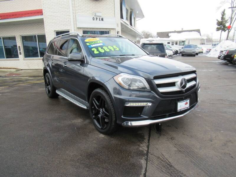 2016 Mercedes-Benz GL-Class for sale at Auto Land Inc in Crest Hill IL