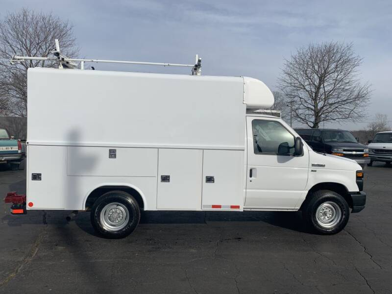 2012 Ford E-Series Chassis for sale at Hawkins Motors Sales in Hillsdale MI