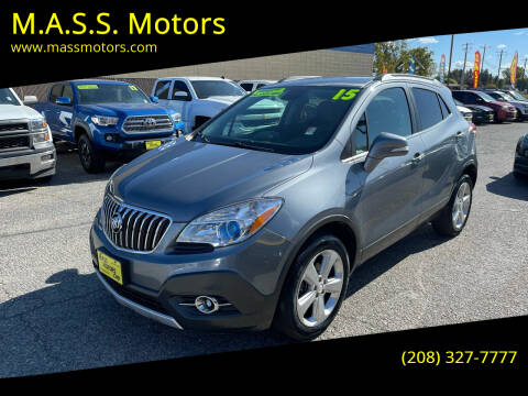 2015 Buick Encore for sale at M.A.S.S. Motors in Boise ID