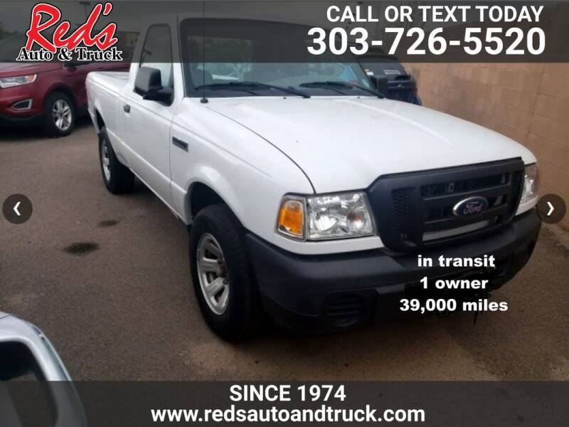 2011 Ford Ranger for sale at Red's Auto and Truck in Longmont CO