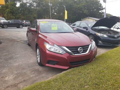 2016 Nissan Altima for sale at PIRATE AUTO SALES in Greenville NC