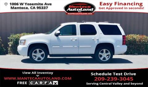 2007 Chevrolet Tahoe for sale at Manteca Auto Land in Manteca CA