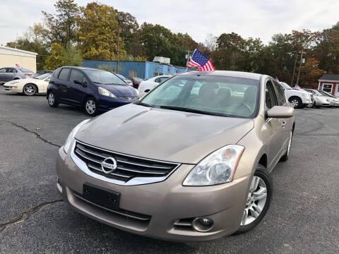 2011 Nissan Altima for sale at M & J Auto Sales in Attleboro MA