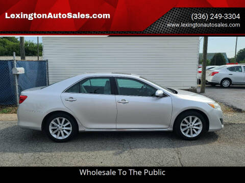 2014 Toyota Camry for sale at LexingtonAutoSales.com in Lexington NC