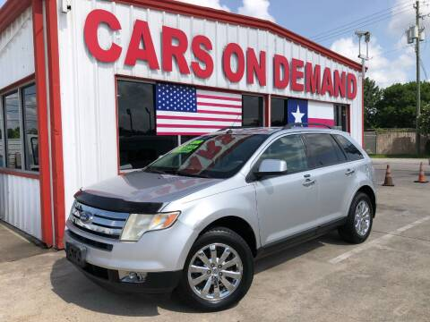 2010 Ford Edge for sale at Cars On Demand 2 in Pasadena TX