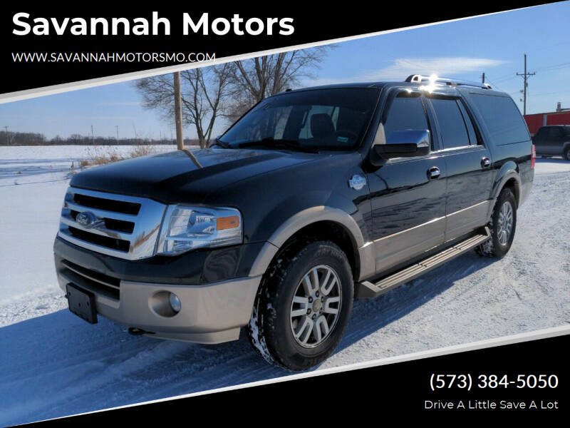 2013 Ford Expedition EL for sale at Savannah Motors in Elsberry MO