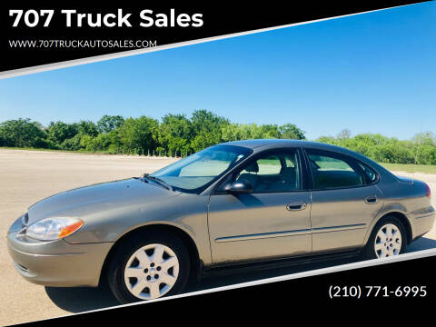 2002 Ford Taurus for sale at 707 Truck Sales in San Antonio TX