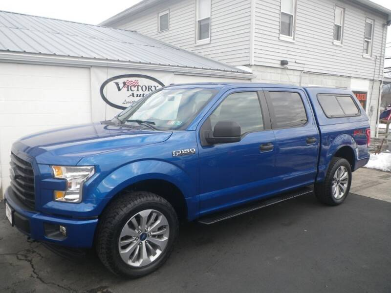 2017 Ford F-150 for sale at VICTORY AUTO in Lewistown PA