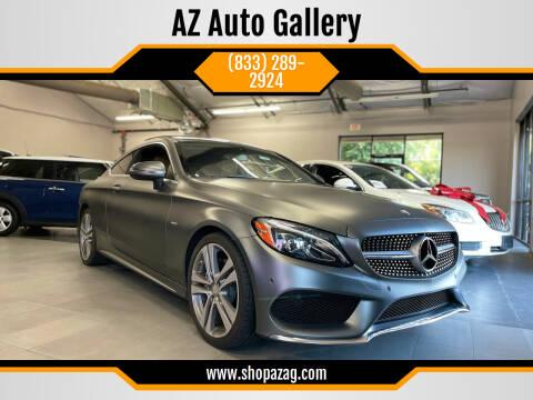 2017 Mercedes-Benz C-Class for sale at AZ Auto Gallery in Mesa AZ