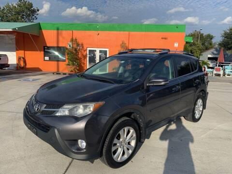 2013 Toyota RAV4 for sale at Galaxy Auto Service, Inc. in Orlando FL