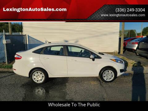 2018 Ford Fiesta for sale at LexingtonAutoSales.com in Lexington NC
