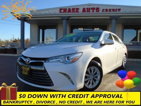 2015 Toyota Camry for sale at Chase Auto Credit in Oklahoma City OK