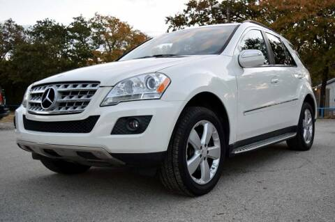 2009 Mercedes-Benz M-Class for sale at BriansPlace in Lipan TX
