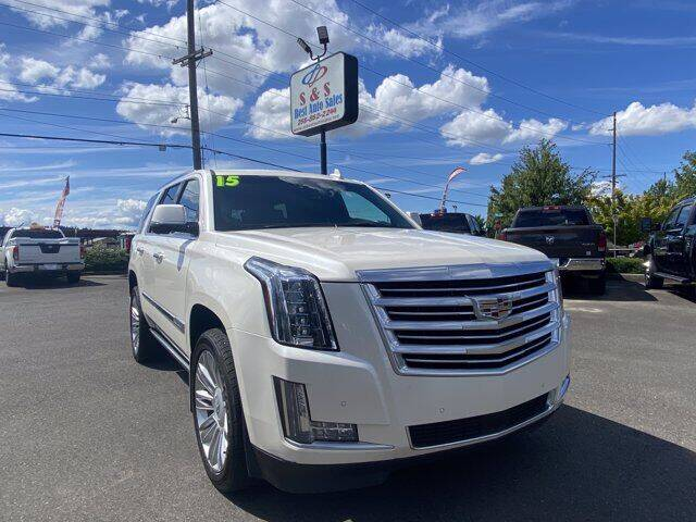 2015 Cadillac Escalade for sale at S&S Best Auto Sales LLC in Auburn WA