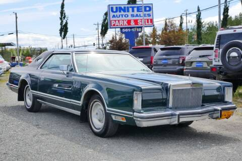 1978 Lincoln Mark V for sale at United Auto Sales in Anchorage AK