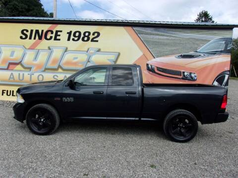 2014 RAM Ram Pickup 1500 for sale at Pyles Auto Sales in Kittanning PA