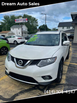 2016 Nissan Rogue for sale at Dream Auto Sales in South Milwaukee WI
