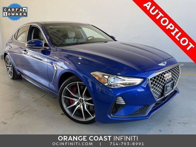 2019 Genesis G70 for sale at ORANGE COAST CARS in Westminster CA