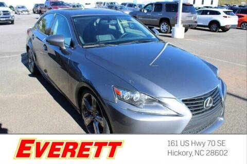 2014 Lexus IS 350 for sale at Everett Chevrolet Buick GMC in Hickory NC