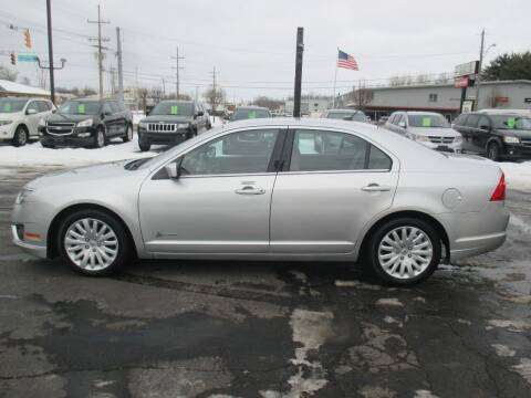 2011 Ford Fusion Hybrid for sale at Home Street Auto Sales in Mishawaka IN