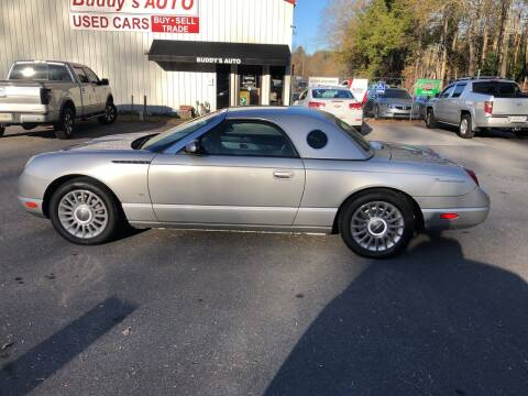 2004 Ford Thunderbird for sale at Buddy's Auto Inc in Pendleton SC