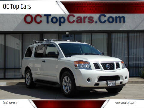 2015 Nissan Armada for sale at OC Top Cars in Irvine CA
