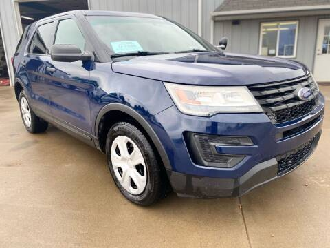 2016 Ford Explorer for sale at BERG AUTO MALL & TRUCKING INC in Beresford SD