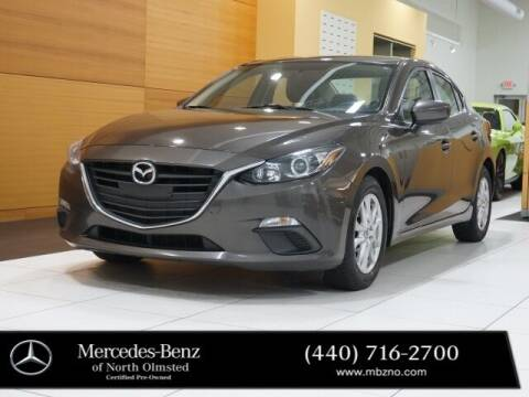 2014 Mazda MAZDA3 for sale at Mercedes-Benz of North Olmsted in North Olmstead OH