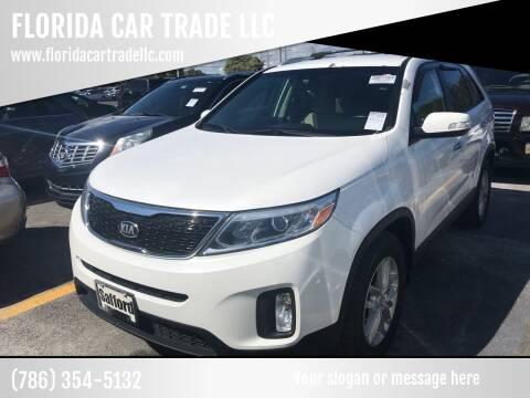 2014 Kia Sorento for sale at FLORIDA CAR TRADE LLC in Davie FL