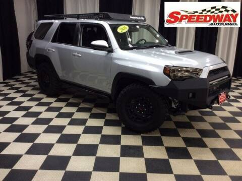 2016 Toyota 4Runner for sale at SPEEDWAY AUTO MALL INC in Machesney Park IL