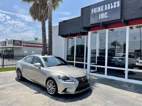 2016 Lexus IS 300 for sale at Prime Sales in Huntington Beach CA