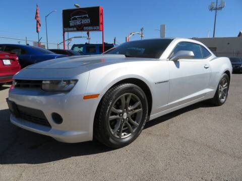 2014 Chevrolet Camaro for sale at Moving Rides in El Paso TX