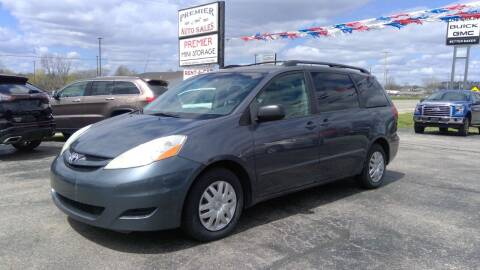 2009 Toyota Sienna for sale at Premier Auto Sales Inc. in Big Rapids MI